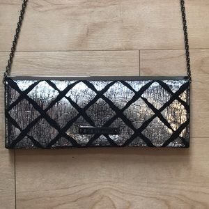 BCBG crossbody or clutch purse